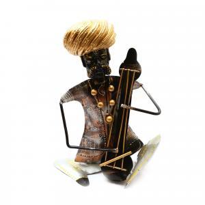 DECORATIVE HANDICRAFTS PAINTED MEN MUSICIAN