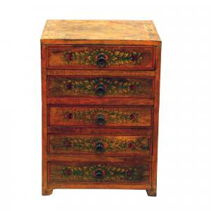 WOODEN HANDICRAFTS 5 DRAWER