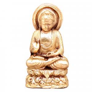 BUDDHA SOLID BRONZE STATUE