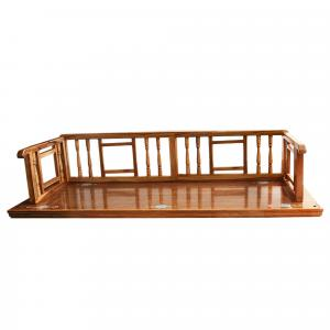 WOODEN HAND PAINTED JHULA FOR HOME DECOR