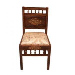 WOODEN CARVED DINING CHAIR
