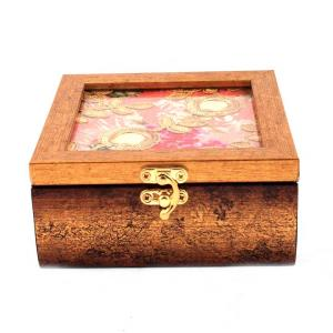 PINK EMBROIDERY KEEP SAKH BOX