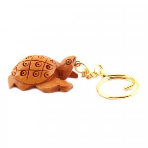 WOODENCARVING JALI KEY CHAIN TATOES
