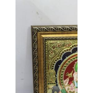 Gold Plated Handmade Tanjore painting