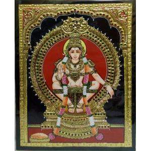 Gold Plated Multicolor Tanjore painting