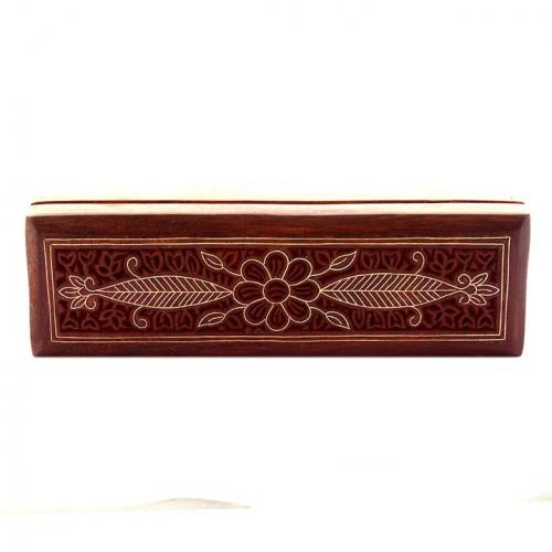 PENCIL BOX WITH FLOWER