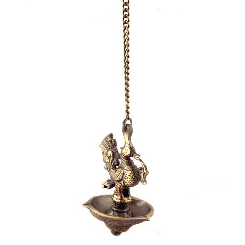 DEEPA HANGING LAMP PEACOCK