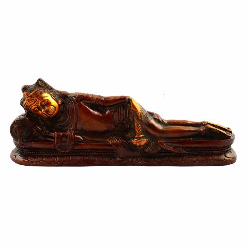 SLEEPING HANUMAN COPPER