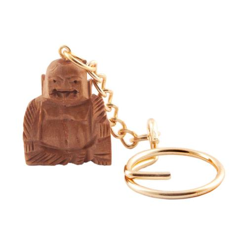 LAUGHING BUDDHA KEY CHAIN