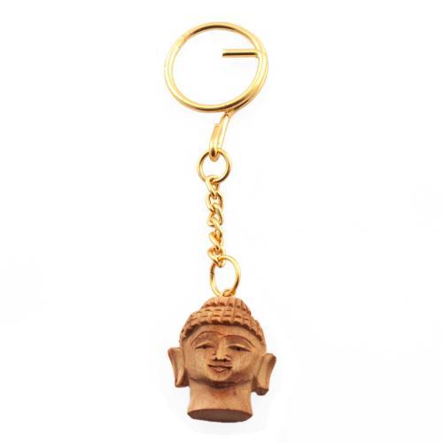 BUDDHA FACE KEY CHAIN