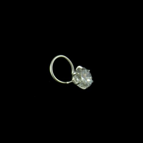 Zircon Stone Nose Pin