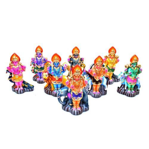 ASHTA BHAIRAVA SET OF 8 PCS