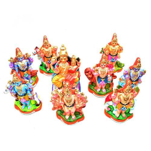 ASHTA BHAIRAVA SET OF 9 PCS