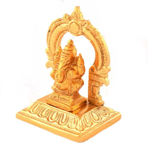 GANESHA BRASS SITTING