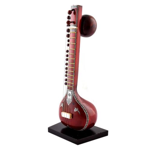 WOODEN SITAR MUSICLE INSTRUMENT