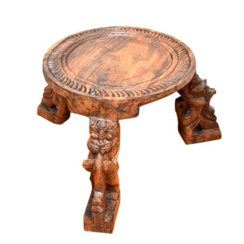 WOODEN STOOL YALI DESIGN