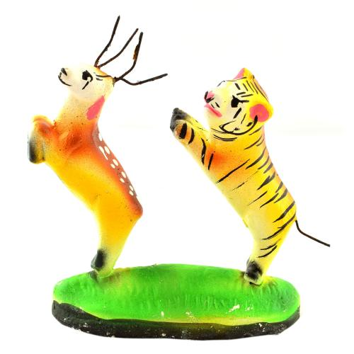GOLU DOLL DEER AND TIGER