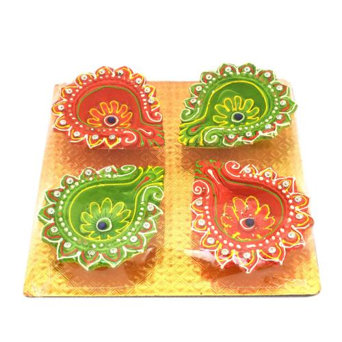 Diya (Set of 4)