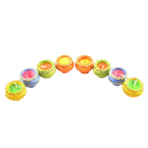 Matka Diya (set of 8)