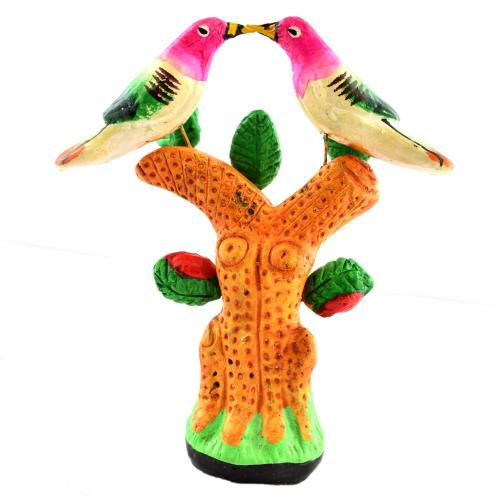 GOLU DOLL 2 BIRDS UNDER TREE
