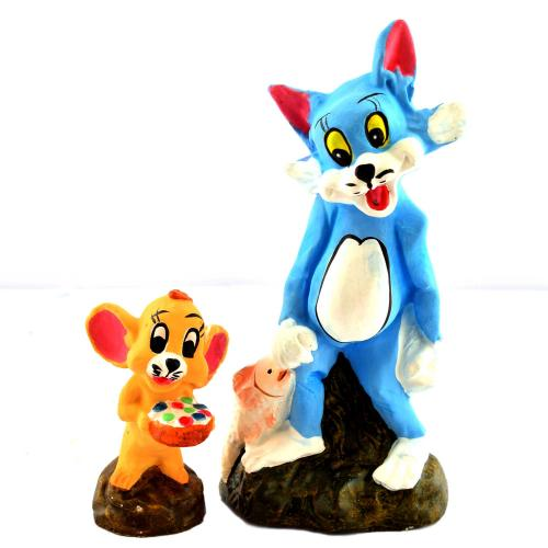 GOLU DOLL TOM AND JERRY SET OF 2