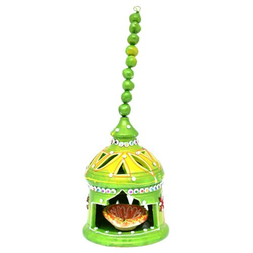 CUTTING HANGING GREEN DIYA