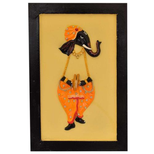 MUSICAL GANESHA WALL HANGING