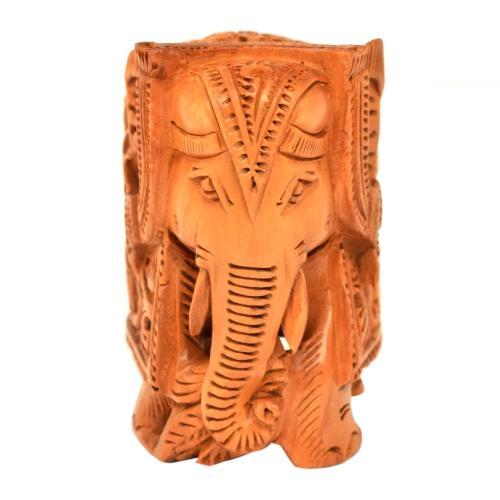 SANDAL WOOD ELEPHANT STANDING
