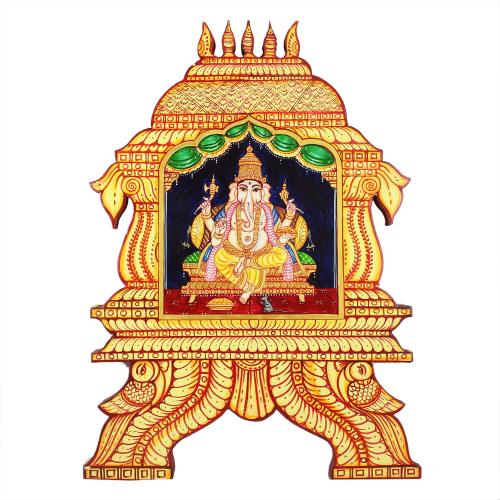 Temple Painting ganesha
