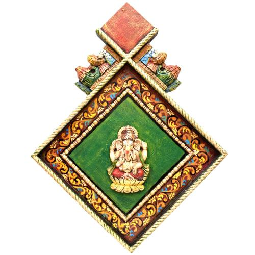LOTUS GANESHA WALL HANGING