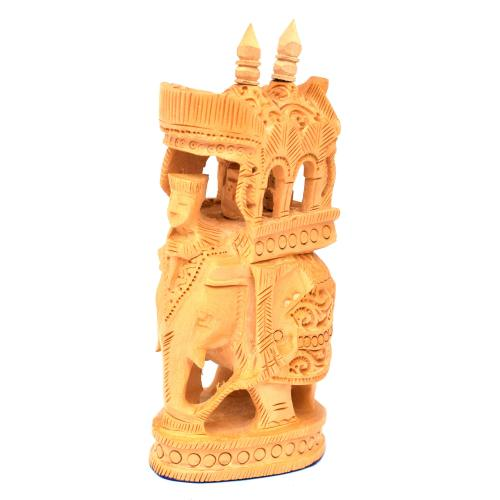 WOODEN ELEPHANT AMBARI