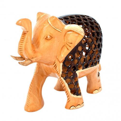 WHITE WOOD ELEPHANT JALI AQ