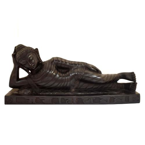 BUDDHA LYING ON DIWAN