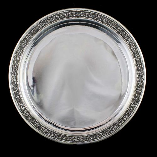 Antique Design Floral Plate