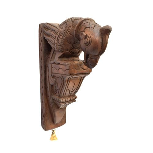 WOODEN PARROT WALL HANGING