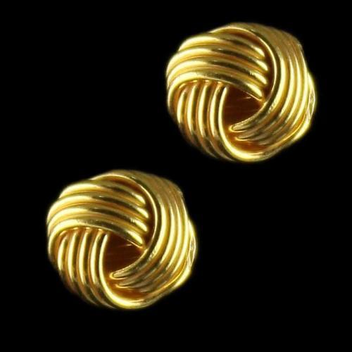 Gold Plated Floral Design  Eaarings