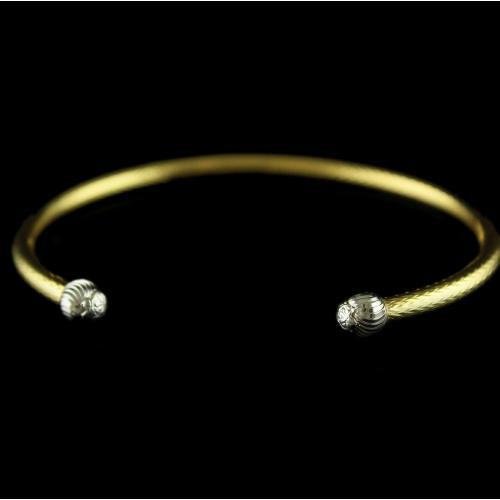 18 Karat Gold Bracelets