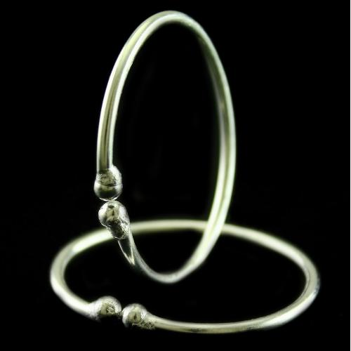 Silver Baby Anklets Band