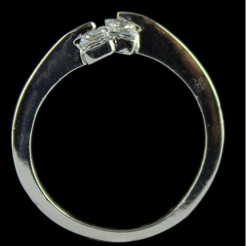 92.5 Sterling Silver Swarvaski Stone Rings Studded Color Stones