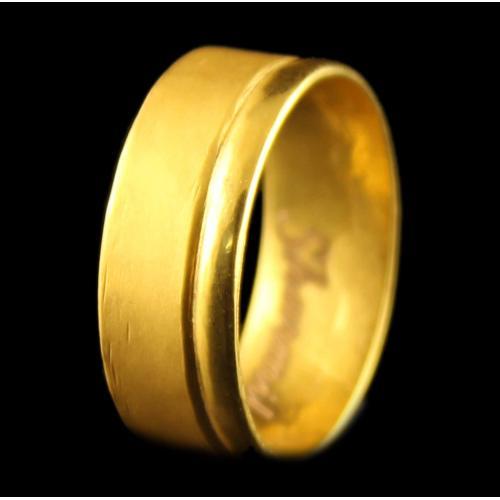 22 Karat Gold Band Rings