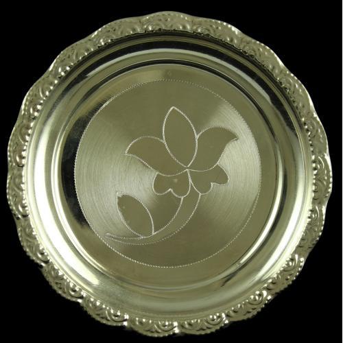 Silver Plated Fancy Design Designer Plates