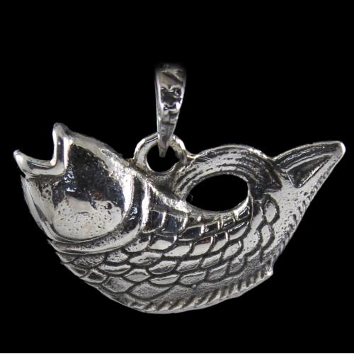 Silver Oxidized Antique Design Pendats