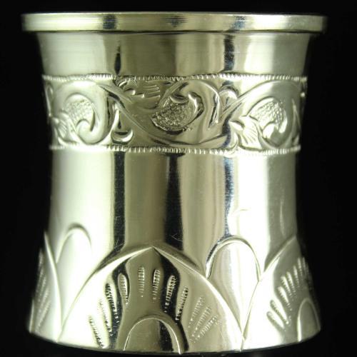 Silver Nagas Design Pancha Pathram