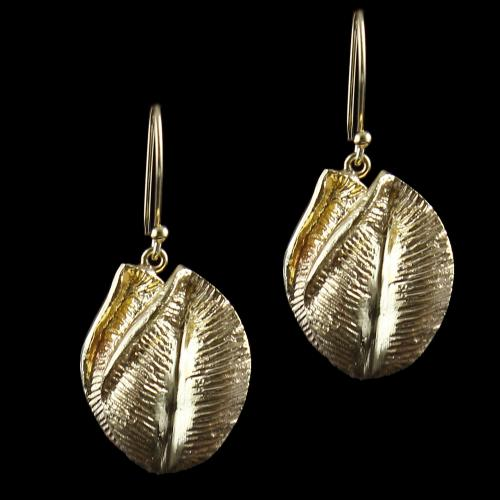 Silver Gold Plated Earring Haning