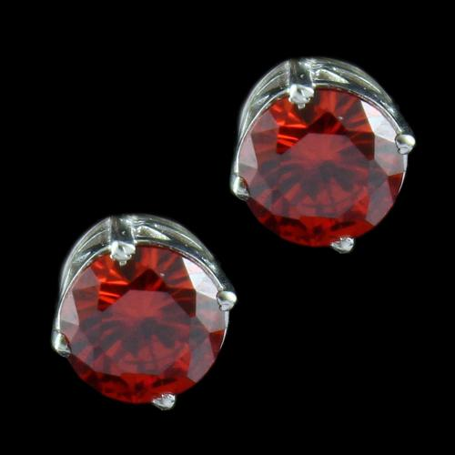 Oxsided Casual Earring Studded Zircon Stones