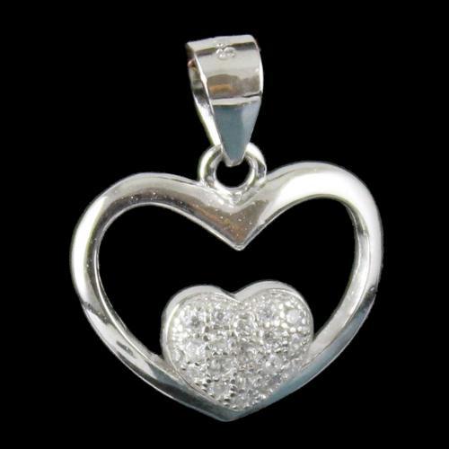 Silver Fancy Design Pendant