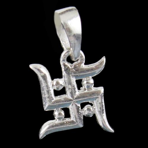 Silver God Om Pendant