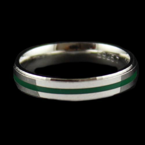 Enamel Band Ring