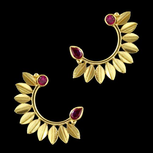 Goldplated Cuff Earring