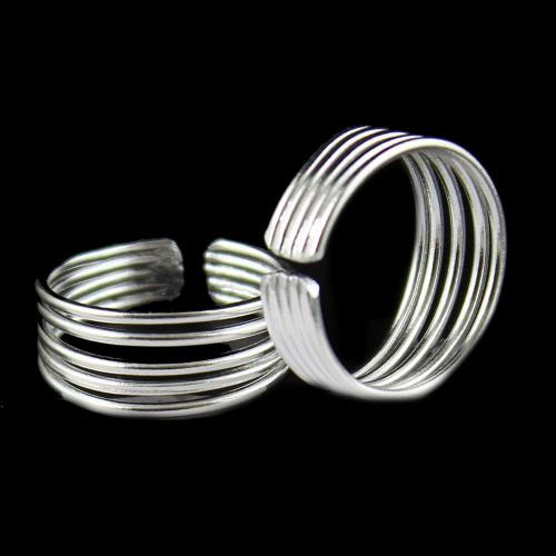 FIVE LAYER TOE RING